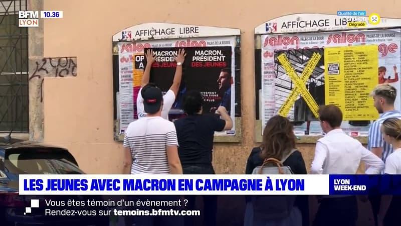 Lyon: les jeunes avec Macron sont déjà en campagne