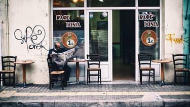 Jusqu'à juillet dernier, les commerçants grecs répugnaient à s'équiper en terminaux de cartes bancaires.