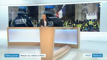Capture du JT de France 3