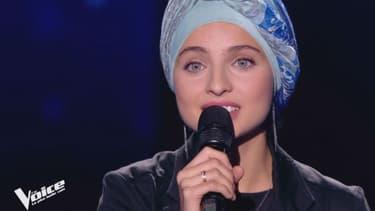 """Mennel sur le plateau de """"The Voice"""""""