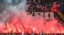 Les fumigènes au Parc des Princes pour PSG-OL