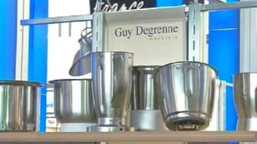 Le produit phare de Guy Degrenne industrie, le bol en inox du robot Thermomix