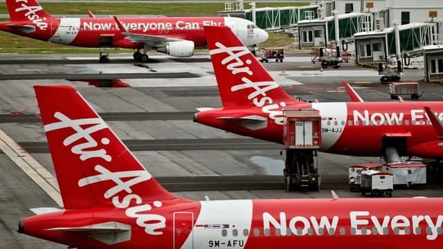 La flotte d'AirAsia est exclusivement composée d'Airbus.