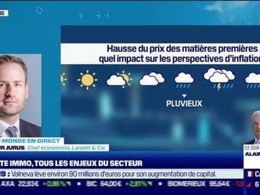 Arhtur Jurus (Landolt & Cie) : Quel est l'impact de la hausse du prix des matières premières sur les perspectives d'inflation ? - 10/05