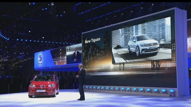 Volkswagen a présenté une version turbo de la Up et le concept de crossover décapotable T-Cross Breeze, lors de sa conférence de presse le 1er mars au salon de Genève.