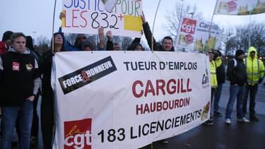L'usine Cargill de Haubourdin (Nord) emploie environ 300 personnes et transforme du maïs, en provenance essentiellement du sud de la France et du sud de l'Europe