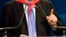 Xavier Darcos, tête de liste UMP en Aquitaine, a été sèchement battu au second tour des élections régionales. Le ministre du Travail a obtenu 28,01% des suffrages, contre plus de 56% des voix pour le président sortant, le socialiste Alain Rousset. /Photo