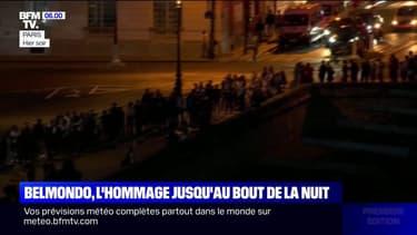 Les fans de Jean-Paul Belmondo n'ont pas hésité à passer la nuit dehors pour saluer sa mémoire une dernière fois