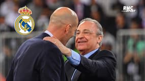 Real Madrid : Perez voudrait garder Zidane la saison prochaine