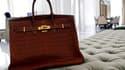 La division maroquinerie d'Hermès a connu une croissance limitée au deuxième trimestre 2014.