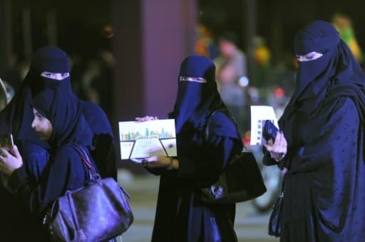 Des Saoudiennes participent à un atelier de conduite à Ryad, le 21 juin 2018