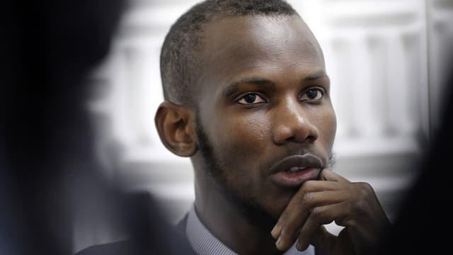 """Le """"héros"""" de la prise d'otage à l'Hyper Cacher, Lassana Bathily, va être naturalisé français ce mardi."""