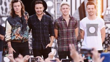 Les One Direction, en concert à New York, en août 2015.