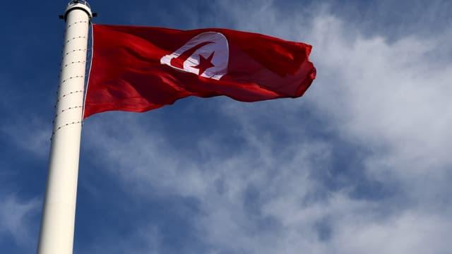 Le drapeau tunisien, le 20 mars 2017. (Photo d'illustration)