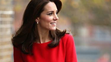 Kate Middleton au Royame-Uni en décembre 2015