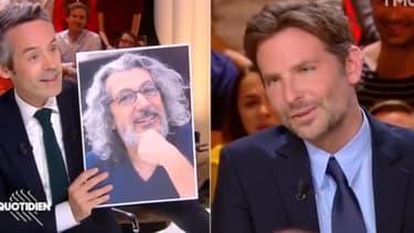 """Bradley Cooper sur le plateau de """"Quotidien"""", mardi 2 octobre"""