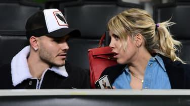 Mauro et Wanda Icardi