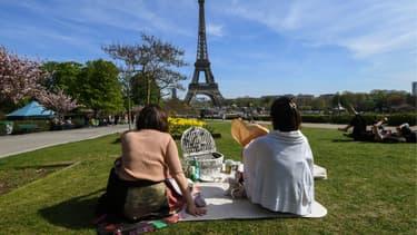 Les jardins du Trocadéro.