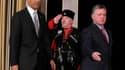 A Amman, Barack Obama et le roi Abdallah de Jordanie ont présenté un front uni face au régime syrien de Bachar al Assad, alors même que la Jordanie est confrontée à un afflux massif de réfugiés chassés par la guerre civile en Syrie. /Photo prise le 22 mar