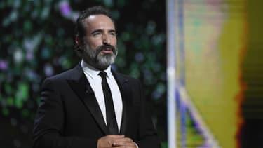 Jean Dujardin en 2017 aux Césars