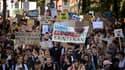 Marche pour le climat à Lausanne le 27 septembre 2019.