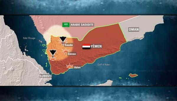 L'aviation saoudienne frappe dans la bulle Houthie.