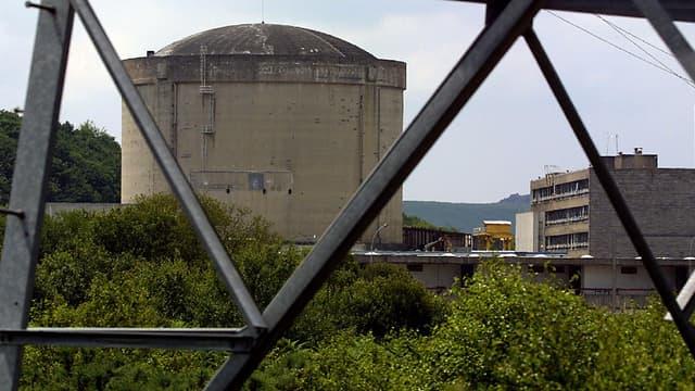 La centrale nucléaire de Brennilis (Finistère) en cours de déconstruction.