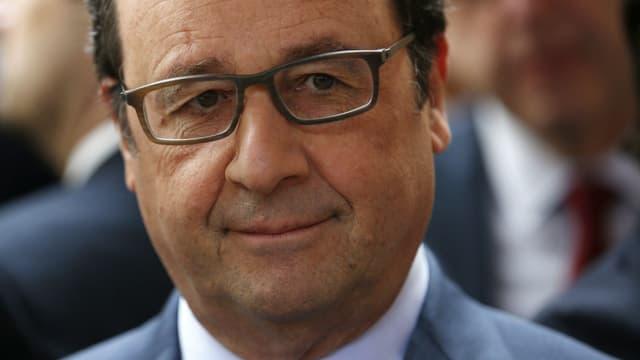 François Hollande à Tulle, en Corrèze, ce jeudi 9 juin