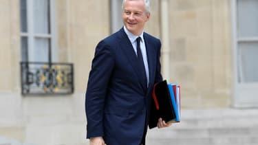 """Pour Bruno Le Maire, le choix du gouvernement est avant tout de """"réinjecter plus de capital dans l'économie française"""""""