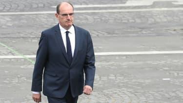 Le Premier ministre Jean Castex, le 14 juillet 2020 à Paris