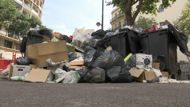 Une grève des éboueurs a débuté à Marseille