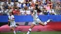 Alex Morgan, star des Etats-Unis, tentera avec ses coéquipières  de venir à bout de la France en quarts de finale.
