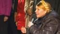 Ioulia Timochenko s'exprimant face à la foule, place Maïdan à Kiev