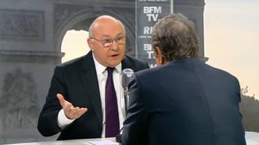 Michel Sapin était l'invité de BFMTV et RMC ce jeudi.