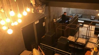 Une boîte de nuit à Mouscron, en Belgique.