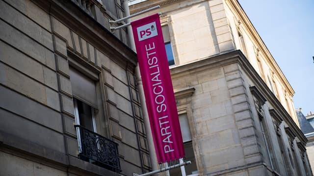 Le siège du Parti socialiste rue de Solférino