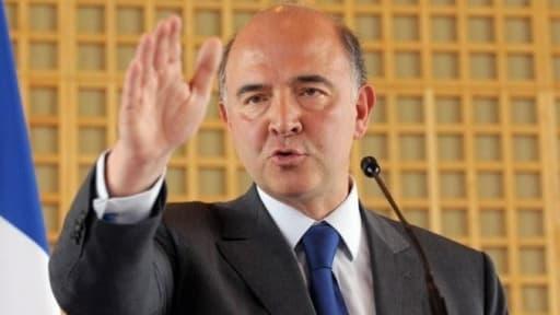"""Pierre Moscovici a estimé que la France """"est la première"""" à lancer une telle offensive."""
