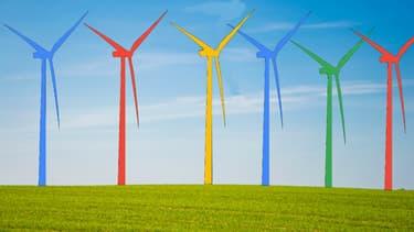 Commandé par Google, le parc éolien composé de 22 turbines Vestas représente un investissement compris entre 80 et 150 millions d'euros.