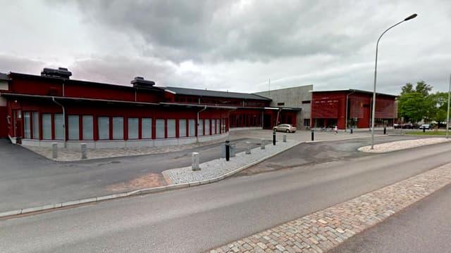C'est dans cette école de la ville de Trollhättan, en Suède, que l'attaque au sabre a eu lieu.