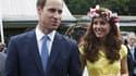 Le prince William et son épouse Kate Middleton à Honiara, sur les îles Salomon.