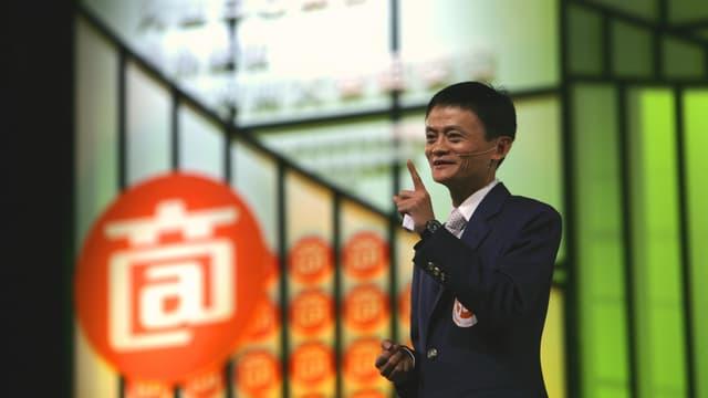 Jack Ma, président d'Alibaba (© Alibaba)
