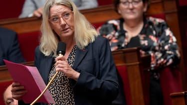 Annie Chapelier, à l'Assemblée, en 2019.
