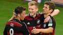 Mesut Özil, André Schürrle et Thomas Müller, trois prodiges de l'école allemande.