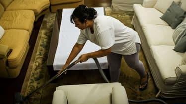 Une femme de ménage au Brésil (photo d'illustration)