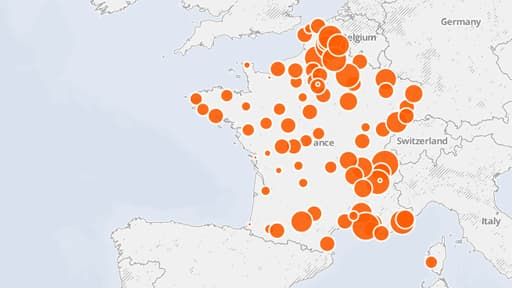 La France ne se classe pas en haut du tableau, mais une seule ville se situe sous le seuil recommandé de l'OMS.