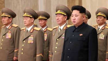 Kim Jong-un en Corée du Nord en Février 2016 (photo d'illustration)