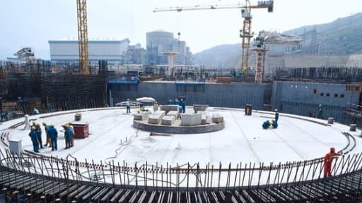 Un réacteur EPR  à Taishan en Chine.