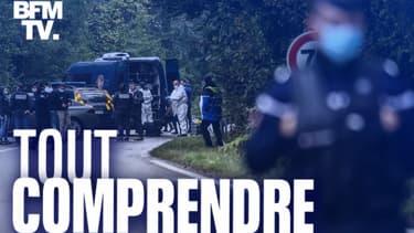 Des gendarmes à Villefontaine, le 28 septembre 2020.