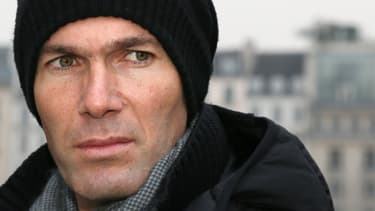 Zinedine Zidane, à la sortie du procès en permière instance, le 24 janvier 2013