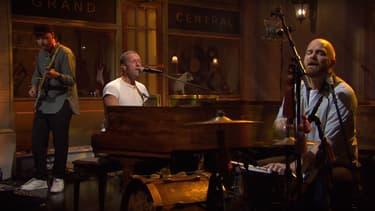 Coldplay dans le Saturday Night Live